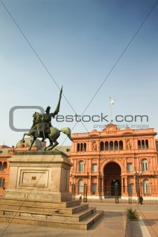 Casa Rosada, Buenos Aires, Argentina