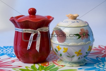 Candle and Teapot
