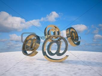@ email symbols