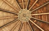 timber roof interior