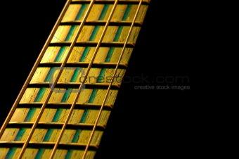bass fretboard