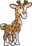 Cute Giraffe Illustration