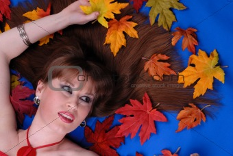 Autumn hair fashion