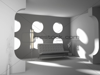 blank interior