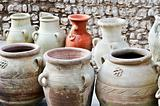 Vases and amphoras