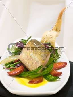 Fish Supreme with Vegetables