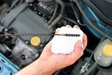 engine oil dipstick