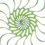 Green clover leaf illustration