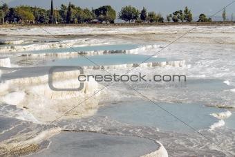 Calcium  terraces