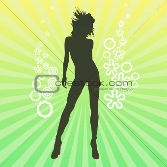Art image - girl