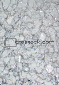 Bubbles of soap