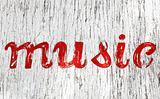 Grunge Music Sign