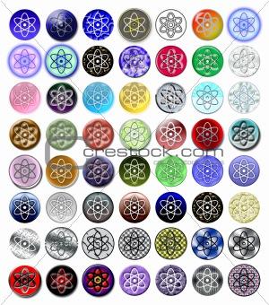 Atom nucleus 1