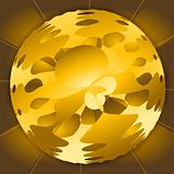 Golden-Brown Sphere
