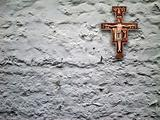 crucifix on wall