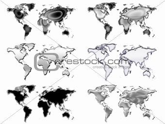 Six worlds silver