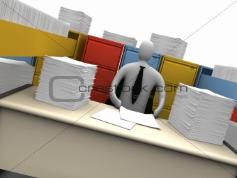 Office Moments - Endless Paperwork #2