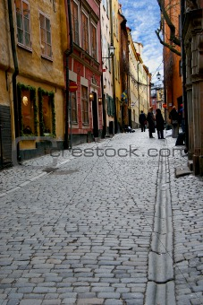 Old time street
