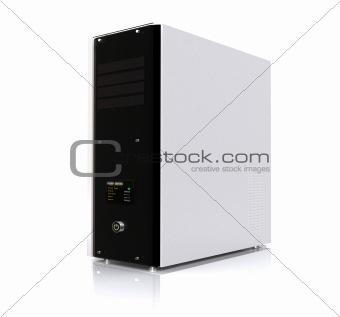 3d computer server