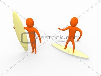 3d surfers
