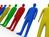 Multicolor People