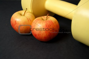 Apples and Dumbbell