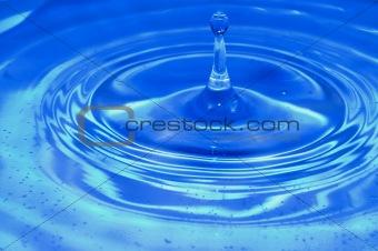 Blu water
