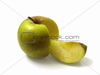 Apple with a Slice