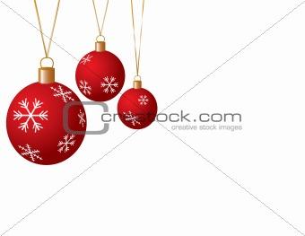 Christmas Balls, Illustration