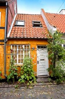Small romantic house