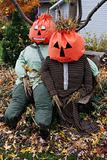 Halloween scarecrows