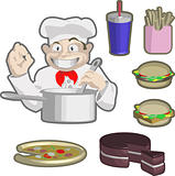 chef and food
