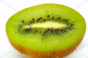 Kiwi Fruit Close Up