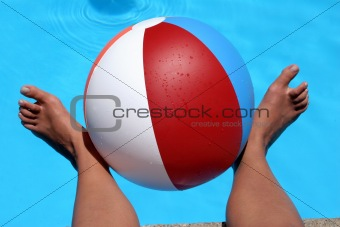 Beach ball Feet
