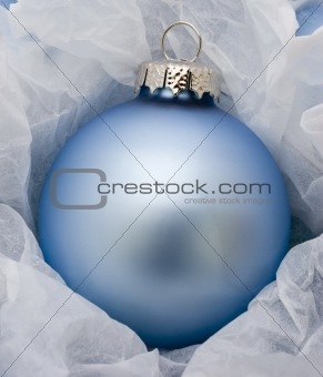 Baby Blue Christmas Decoration