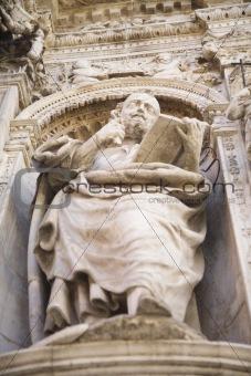 saint mary church detail