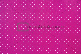 Abstract Pink Background with white dots