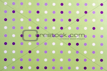Abstract Poka Dot Background