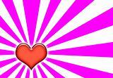 Romance Heart Wallpaper Background