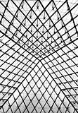 Glass pyramid entrance to the Louvre