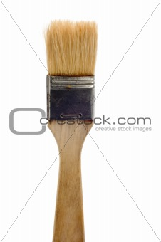 paint brush close up