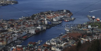 Bergen city