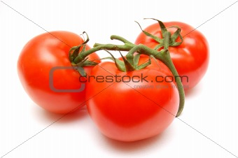 three tomatoes