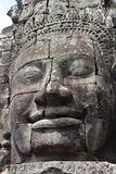 Face of Bayon - Angkor temples, cambodia