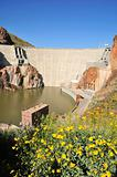 Roosevelt Dam in Spring