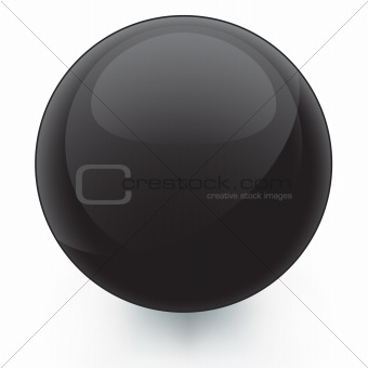 Black Glossy Icon Template