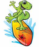 Gecko Surfing