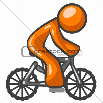 Orange Man Mountain Biking