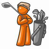 Orange Man Golf