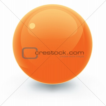 Pretty Orange Sphere
